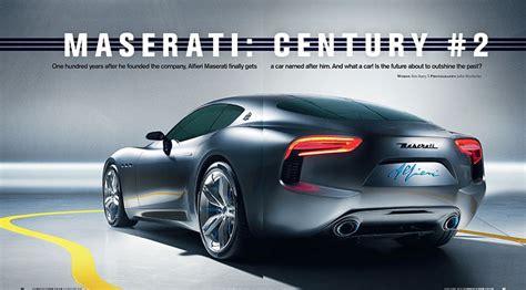 Maserati Alfieri Coupe Coming In 2016, Cabrio In 2017