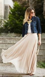 Plissee 80 X 120 : comment porter la jupe longue pliss e 80 id es ~ Markanthonyermac.com Haus und Dekorationen