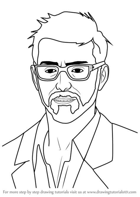 Learn How to Draw Mr. Jefferson from Life is Strange (Life