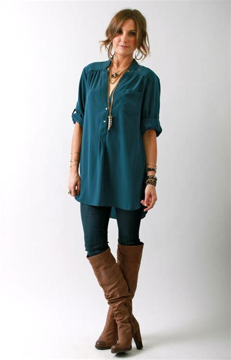 Tunics Boots and Leggings on Pinterest