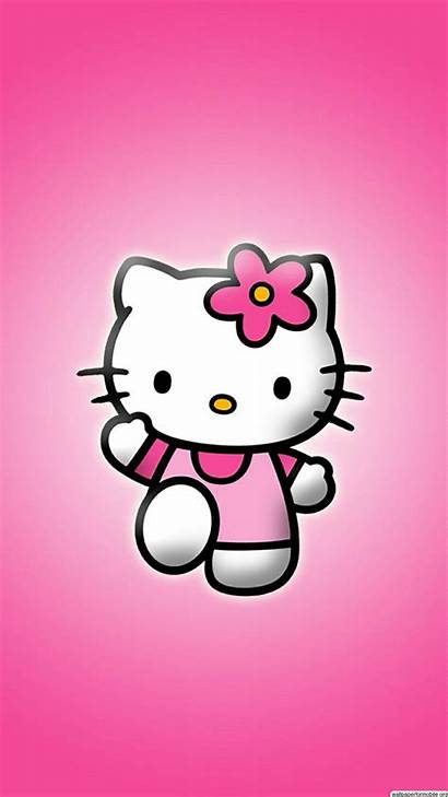 Kitty Hello Iphone Phone Wallpapers Backgrounds Cartoon
