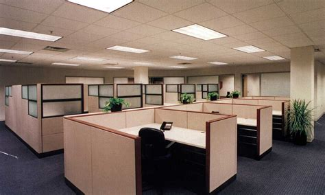 Modern Office Cubicle 14627