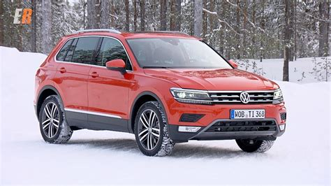 2018 Volkswagen Tiguan North American Version, First