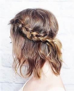 Tresse Cheveux Courts : tresses coiffure simple et facile ~ Melissatoandfro.com Idées de Décoration