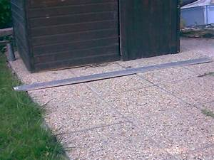 Pose Abri De Jardin Sur Dalle Gravillonnée : plancher pour abris de jardin ~ Dailycaller-alerts.com Idées de Décoration