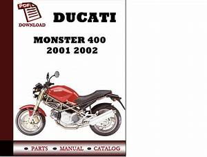 Ducati Monster 400 Parts Manual  Catalogue  2001 2002 Pdf