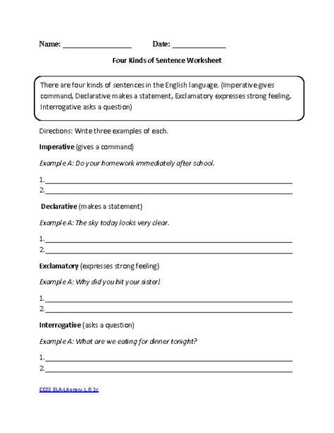 16 Best Images Of 8th Grade Language Arts Worksheets  Free Printable 4th Grade Language Arts