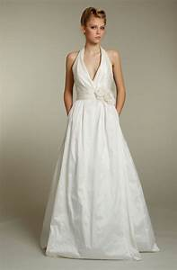 simple halter wedding dresses for creating modest bridal With halter wedding dress