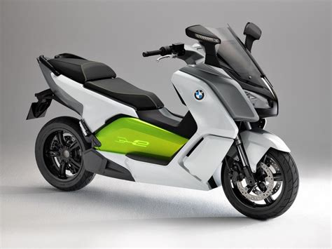 Bmw All Electric Scooter by Bmw C Evolution Electric Scooter Prototype Politusic