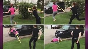 Criminal Profile Shovel Girl Fight Video Both Participants Charged With