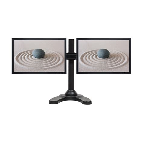 desk for 2 monitors dual lcd 2 monitor stand desk mount adjustable curved free