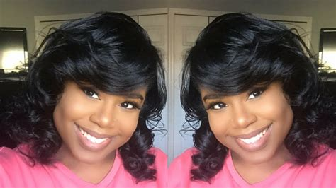 PIN CURLS ON STRAIGHT NATURAL HAIR YouTube