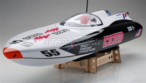 Performance International Rc Boats by Exceed Racing Boat Electric Powered Fiberglass P1 Arpro