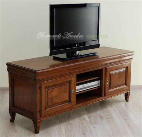 mobili per televisione porta tv in noce massello 3 porta tv