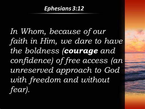 ephesians   god  freedom  confidence powerpoint