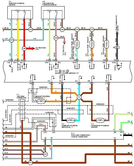 1994 Toyotum Camry Electrical Diagram by Wiring Diagrams 1995 Toyota Supra Wiring Diagram