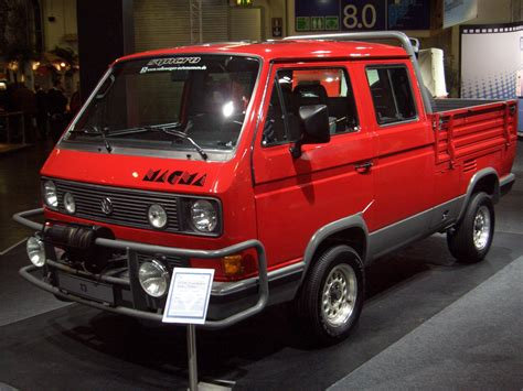 t3 vw vw t3 syncro concept magma 1987 cool trucks vw
