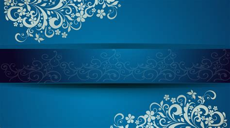 gorgeous blue background business cards creative front