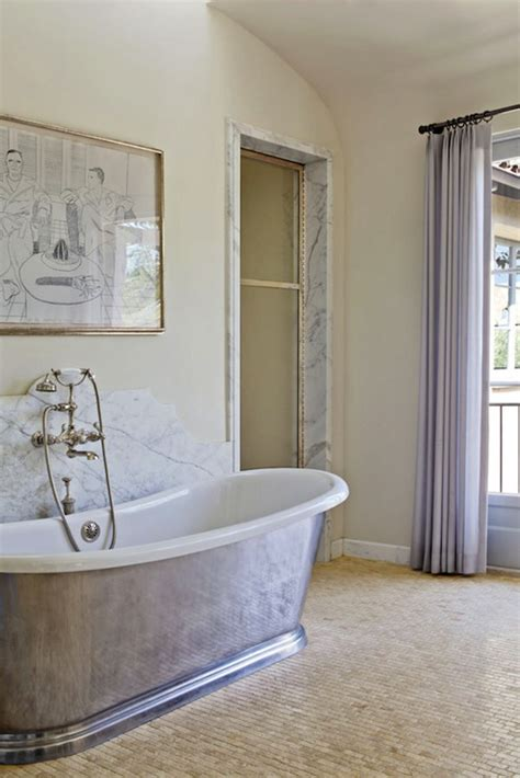 waterworks candide bathtub transitional bathroom