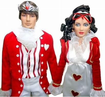 Queen Hearts King Tonner Wonderland Alice Dolls