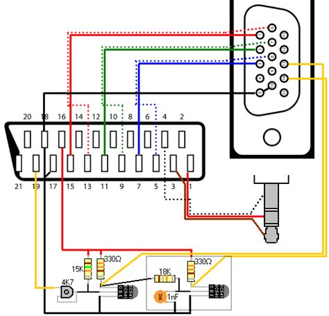 Vga Wiring Diagram by Vga Adapter Wiring Diagram Wiring Diagram