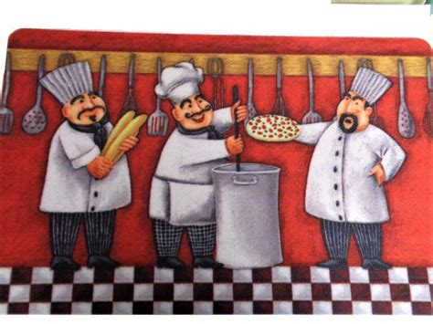 Chef Kitchen Rugs by Italian Chef Kitchen Rug Chefs Cooking