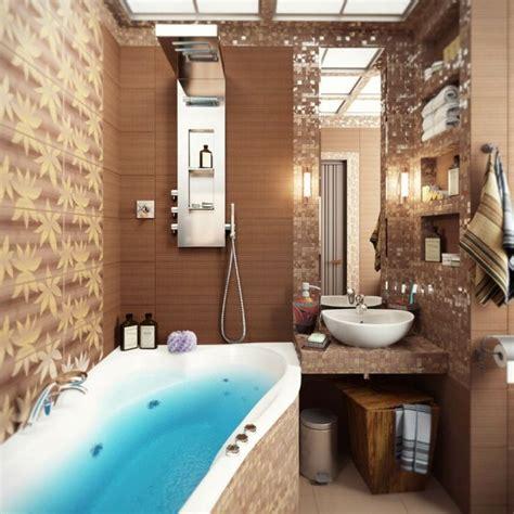 Kleines Badezimmer Möbel by Kleines Modernes Badezimmer Mit Mosaik Gestalten Tipps