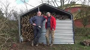 Dachabdeckung Für Schuppen : schuppen f r die brennholzlagerung einfach und billig selberbauen youtube ~ Orissabook.com Haus und Dekorationen