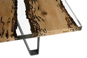 designer holztische poetic dining table made of briccola wood