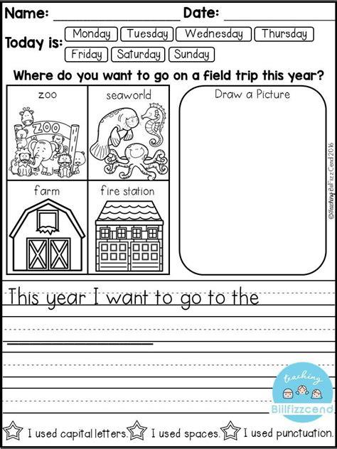 25 kindergarten journals ideas on