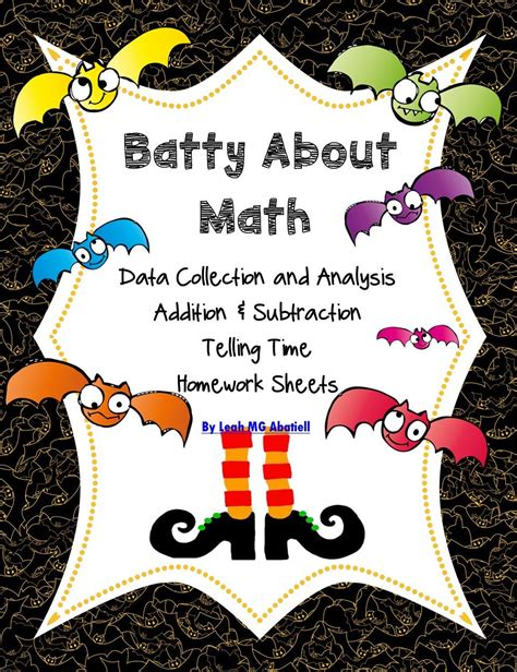 halloween math batty  math  images halloween