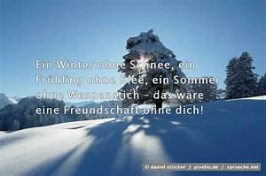 Sprüche Winter Schnee : winter spr che bilder ~ Watch28wear.com Haus und Dekorationen