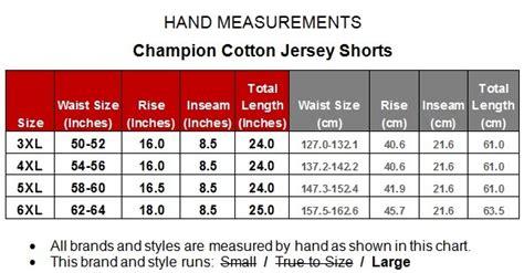 big mens champion lightweight cotton jersey shorts xl