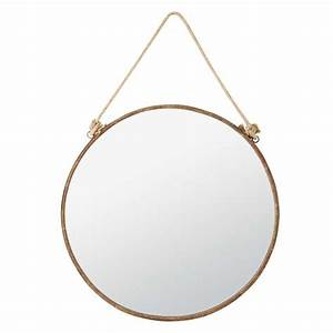 92 best images about sb rangement miroirs luminaire on With miroir rond metal