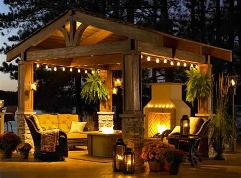 Backyard Pergola Ideas - covered pergola enhances and grandeur of home