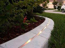 Concrete Edging Good Installation Ortega Lawn Care
