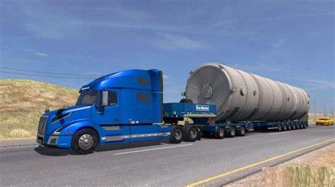 ets mega silo long trailer   simulator