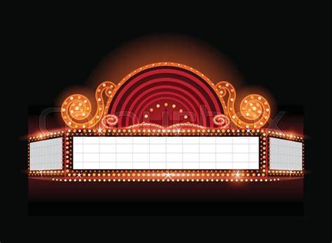 Broadway Billboard Clip Art biograf ramme begivenhed stock vektor colourbox 800 x 584 · jpeg