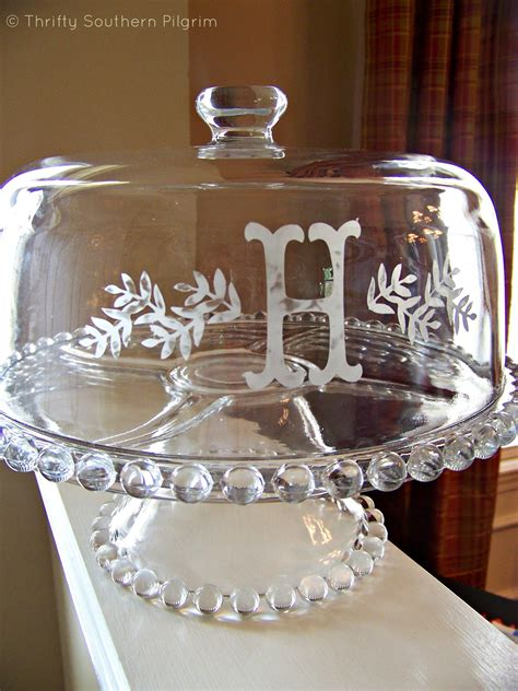 glass etching cream monogrammed glass glass etching glass etching projects