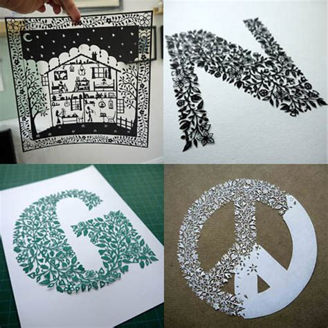 amazing papercut artists designsponge