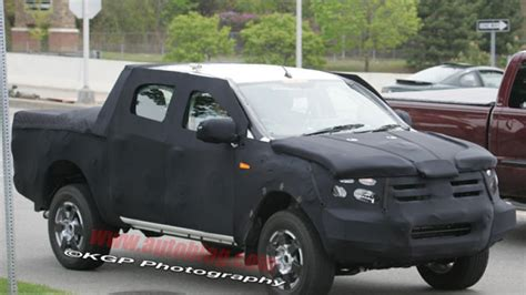 Next-gen Ford Ranger And Chevy Colorado