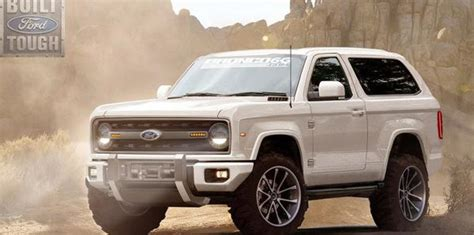 2019 Ford Bronco Release Date, Redesign, Specs And Price