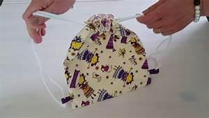 Faire Un Sac : tutoriel pour faire un sac dos enfant youtube ~ Nature-et-papiers.com Idées de Décoration