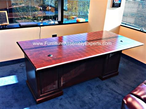 sauder office port executive desk assembly 103 best images about office furniture assembly