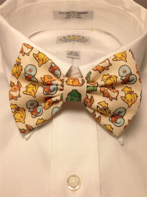 anime character bow ties pokemon game