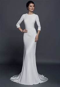 modest long sleeve wedding dresses from darius couture With silk wedding dresses with sleeves