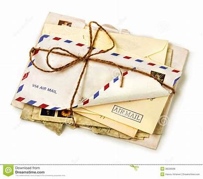 Letters Pile Airmail Gift Mail Envelope Stack