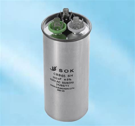 Air Conditioner Capacitor (cbb65)  China Air Capacitor
