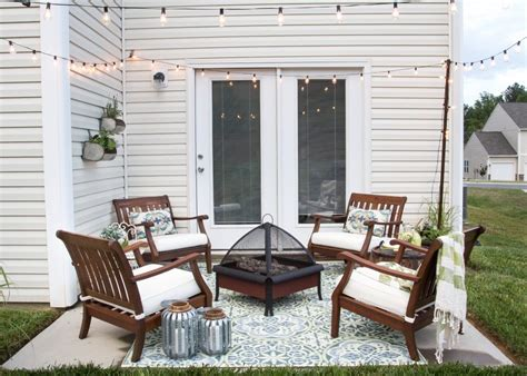 Decorating Ideas For Patios by Small Patio Decorating Ideas On A Budget Patioliving