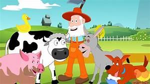 Old Mcdonald Had A Farm Kids Tv Nursery Rhymes Animal